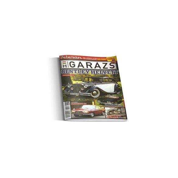 Veterán Garázs Magazin reklámfelületek